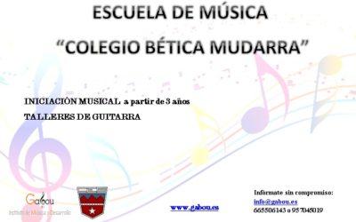 """Escuela de música """"Colegio Bética Mudarra"""""""